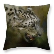 Out Of The Brush Throw Pillow