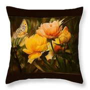 Out Of The Dark Throw Pillow