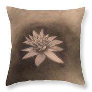 Out Of The Deep Throw Pillow