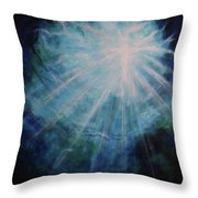 Out Of The Depths Throw Pillow
