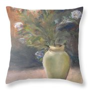 Out Of The Garden Throw Pillow