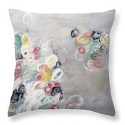 Out Of The Gray Throw Pillow