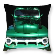 Out Of The Shadows - 51 F100 Ford  Throw Pillow