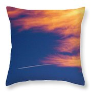 Out Of The Storm Throw Pillow
