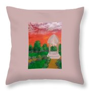 Out Of Touch Throw Pillow