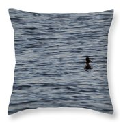 Out On A Cruise Throw Pillow