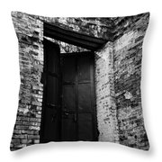 Out The Back Throw Pillow