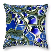 Out The Looking Glass Throw Pillow