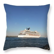 Out To The Ocean Throw Pillow
