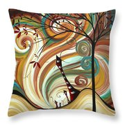 Out West II By Madart Throw Pillow