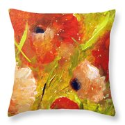 Out With The Sun Throw Pillow