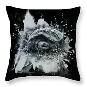 Outa My Way Throw Pillow