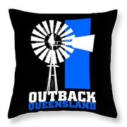 Outback Queensland 2 Throw Pillow