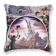 Outback Ruin Throw Pillow