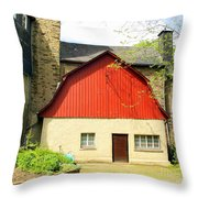 Outbuilding. Germany Throw Pillow