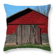 Outbuilding Throw Pillow