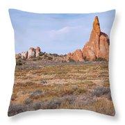Outcroppings Throw Pillow