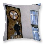 Austrian Outdoor Art Throw Pillow