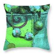 Outdoor Decorations Throw Pillow