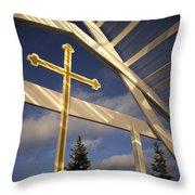 Outdoor Inspiration Throw Pillow