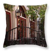 Outdoor Restaurant Throw Pillow