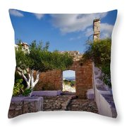 Outdoor View Throw Pillow