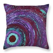 Outer Bands Throw Pillow