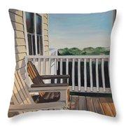 Outer Banks Morning Sun Throw Pillow
