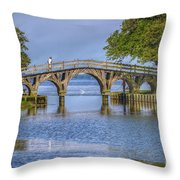 Outer Banks Whalehead Club Bridge  Throw Pillow