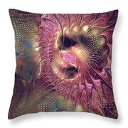 Outlandish With Feeling Throw Pillow