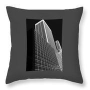 Outlines New York City Throw Pillow