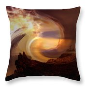 Outpouring Throw Pillow