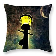 Outshined Throw Pillow