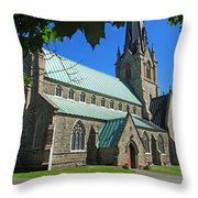 Outside Christ Church Cathedral 1 Throw Pillow