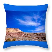 Outside Lyons Colorado Throw Pillow