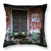 Outside Of Town Throw Pillow