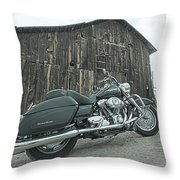 Outside The Barn Bts Throw Pillow