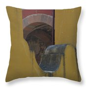 Outside The Walls Throw Pillow