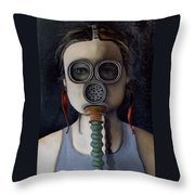 Outsider 1 Throw Pillow