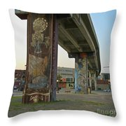 Outstanding Public Art  Throw Pillow