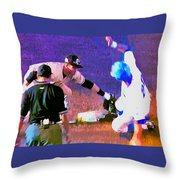 Outta There Throw Pillow