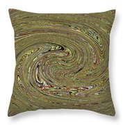 Oval Abstract Panel 6150-5 Throw Pillow
