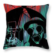 Over Exposure Throw Pillow