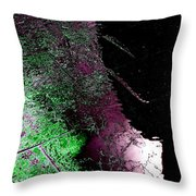 Over Halfway There Throw Pillow