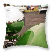 Over My Shoulder 2042 Throw Pillow