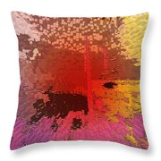 Over Population Throw Pillow