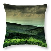Over Shadowing Throw Pillow