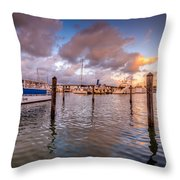 Over The Bay Throw Pillow