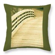 Over The Bridge Throw Pillow