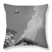 Over The Civilization Throw Pillow